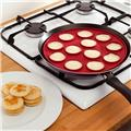 Moule 12 blinis silicone