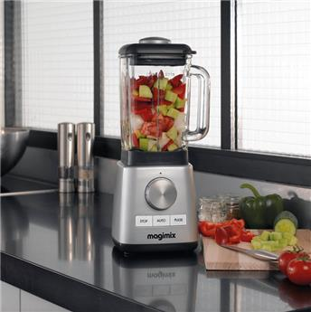 MAGIMIX Power Blender 1.8 L Chromé mat