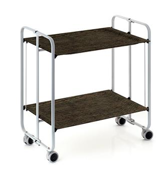 TWIST Table roulante pliante DHO Gris