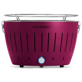 Barbecue Lotus Grill Nomade + Housse D34 Fuchsia