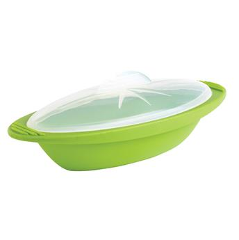 Papillote Minute en silicone MASTRAD Moyenne Vert