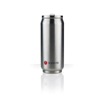Can´it Mug isotherme canette 500 ml LES ARTISTES Inox