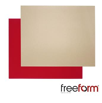 Set de Table FreeForm 40 x 30  ROUGE TAUPE