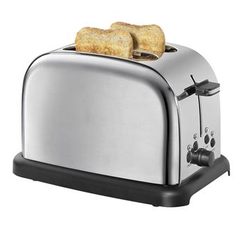 Grille Pain Toaster Cilio 1050 W  2T Inox Inox