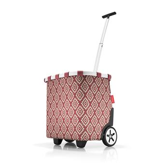 CARRYCRUISER Chariot de courses REISENTHEL Diamonds Rouge