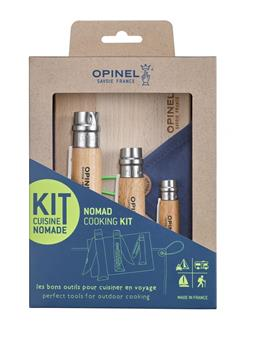 Coffret Kit cuisine Nomade 3 couteaux  OPINEL