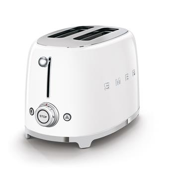 Toaster 2 tranches Grille pain Années 50 SMEG Blanche