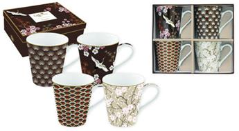 Coffee Mania Oriental Mug Conique Porcelaine Marron - les 4  SC