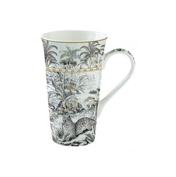 ATMOSPHERE Coffret Mega mug 60 cl porcelaine Retro Jungle