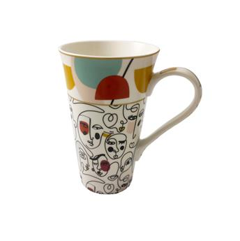 ATMOSPHERE Coffret Mega mug 60 cl porcelaine Modernism